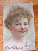RUMFORD RECEIPT BOOK-PRETTY GIRL IMAGE