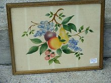 OLD THEOREM FRAMED-FRUIT