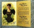 WORLD'S COLUMBIAN EXPOSITION 1893 ROYAL WORCESTER CORSET BOOKLET