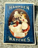 HAMPDEN WATCHES TRADE CARD