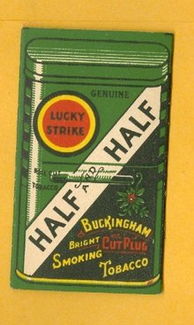 LUCKY STRIKE HALF AND HALF CIGARETTE TOBACCO PAPERS