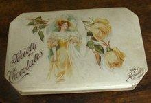 SOCIETY CHOCOLATES CANDY BOX-PRETTY LADY