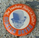 MASTER BREAD CELLULOID PINBACK-BOY IMAGE