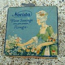 NORIDA'S FLEUR SAUVAGE ROUGE BOX