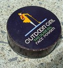 OUTDOOR GIRL FACE POWER BOX-GIRL GOLFER IMAGE/DIFFERENT SIZE