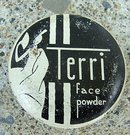 SCARCE TERRI FACE POWDER TIN