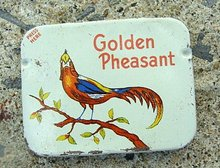 GOLDEN PHEASANT PROPHYLACITICS CONDOM TIN-CONTENTS