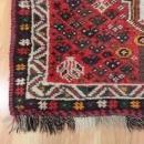 Nomadic Rug Red Tribal Vintage Rug Red 2' 7 x 4' 5 Shiraz