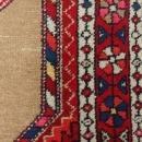 Brown Vintage Rug 3' 7 x 5' 4 Hamedan