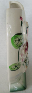 Vintage Ducks and Water Lilies Wall Pocket