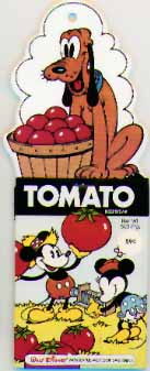Colorforms, Minnie, Mickey, Pluto, Disney, Camera Seed Packet