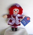 Raggedy Ann February Doll of the Month by Applause