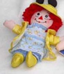 Raggedy Ann March Doll of the Month by Applause