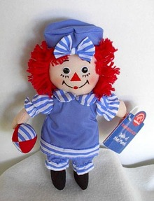Raggedy Ann June Doll of the Month by Applause
