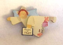 Angel of Mercy Nurse Magnet