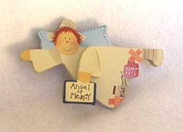 Angel of Mercy Nurse Magnet