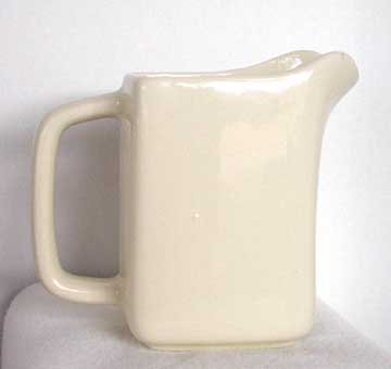 Dental/Medical Related Pottery Pitcher