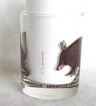 Great Armadillo Highball Glass