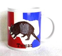 Texas Armadillo with History Coffee Mug