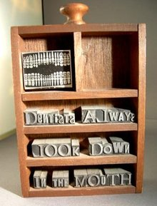 Dental Related Shadow Box