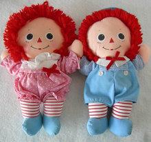 Playskool Baby Raggedy Ann & Andy Dolls