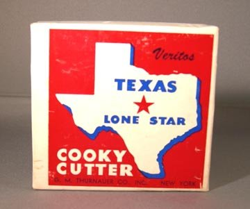 Figural Texas Shaped Cookie Cutter