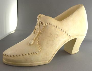 Vintage Salesman Sample/Prototype of Ladies Shoe