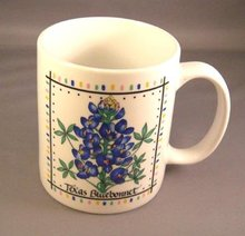 Colorful Texas Bluebonnet Coffee Mug