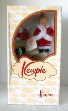 Effanbee Kewpie Santa Doll with Sleigh