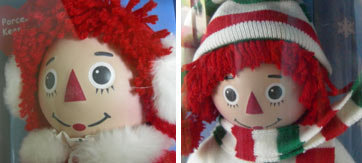 Christmas Raggedy Ann & Andy 14