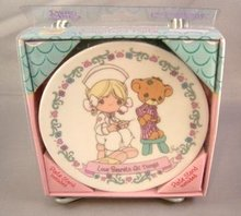 Nurse Precious Moment Small Collector's Plate
