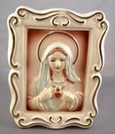 Vintage Virgin Mary Wall Pocket Planter