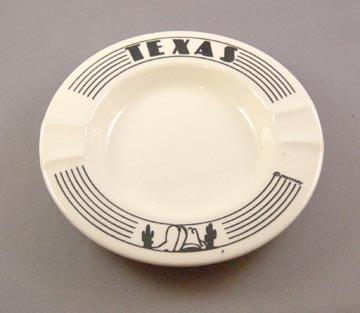 Older Pottery Texas Ash Tray