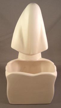 Vintage Relpo Nun Figural Vase/Planter