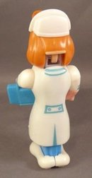 Unique Pez Nurse with Nurse Body Parts