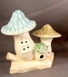 Toad Stool Village Bubbler Aquarium Ornaments
