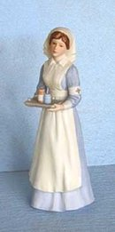 Enesco Treasured Memories Angel of Mercy Nurse 1985
