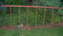 Wrought Iron Fence Six-Foot Sections