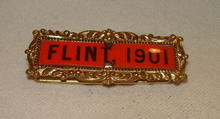Flint, 1901 Convention Pin
