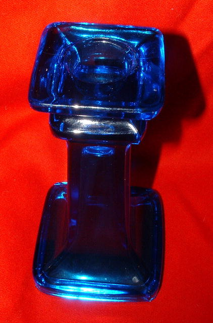 Cobalt Blue 6.5 Inch Candle Holder