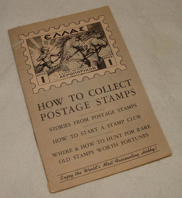 1951 How to Collect Postage Stamps Guide