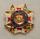 Vintage Men's and Ladies VFW Pins