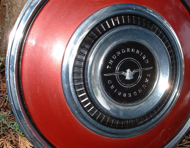 Vintage 1970-1971 Ford Thunderbird Hubcap
