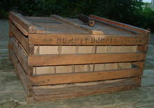 Antique Primitive Humpty Dumpty Egg Crate