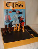 Vintage 1973 Dynamic Chess Set with Wooden Pieces