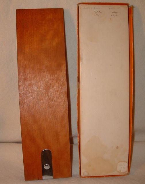Vintage Drueke Hardwood Cribbage Board # 2050