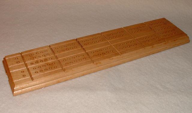 Vintage Drueke Cribbage Board No. 5