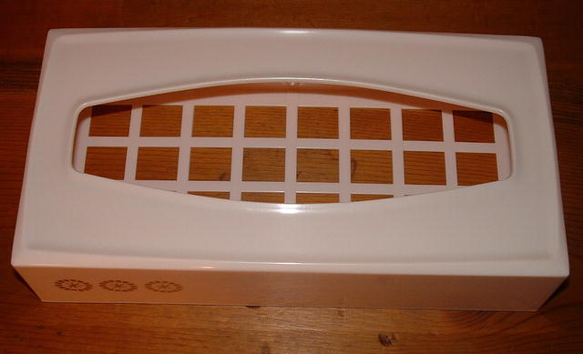 Vintage Mid-Century Pink Rubbermaid Tissue Holder