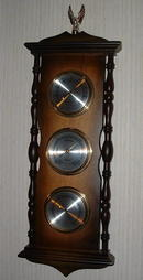 Vintage West German Tradition Hygrometer, Barometer, Thermometer