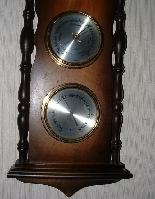 Vintage West German Tradition Hygrometer, Barometer, Thermometer
